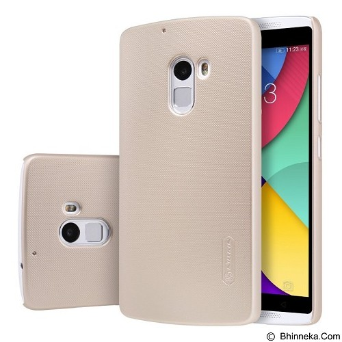 NILLKIN Super Frosted Shield Hardcase Lenovo Vibe X3 Lite/K4 Note - Gold (Merchant) - Casing Handphone / Case