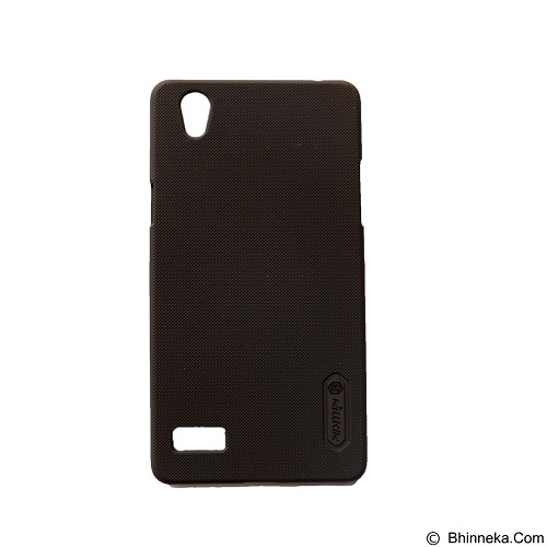 NILLKIN Super Frosted Shield Hardcase Oppo Mirror 5 - Brown (Merchant) - Casing Handphone / Case