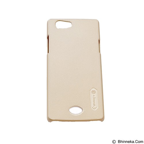 NILLKIN Super Frosted Shield Hardcase Oppo Neo 5 - Gold (Merchant) - Casing Handphone / Case