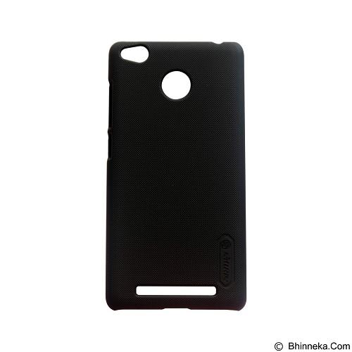 NILLKIN Super Frosted Shield Hardcase Xiaomi Redmi 3 Pro - Black (Merchant) - Casing Handphone / Case