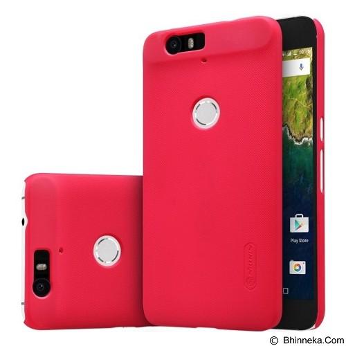 NILLKIN Super Frosted Shield Huawei Nexus 6P - Red (Merchant) - Casing Handphone / Case