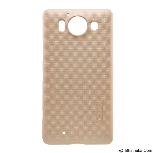 NILLKIN Super Frosted Shield Microsoft Lumia 950 - Gold (Merchant) - Casing Handphone / Case