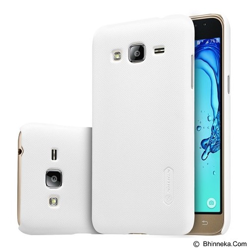 NILLKIN Super Frosted Shield Samsung Galaxy J3 - White (Merchant) - Casing Handphone / Case