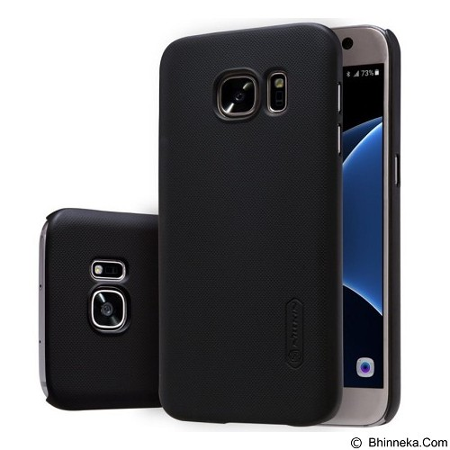 NILLKIN Super Frosted Shield Samsung Galaxy S7 - Black (Merchant) - Casing Handphone / Case