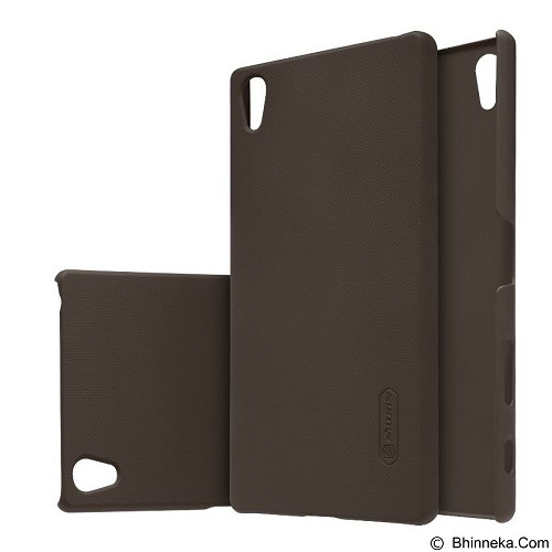 NILLKIN Super Frosted Shield Sony Xperia Z5 Premium - Brown (Merchant) - Casing Handphone / Case