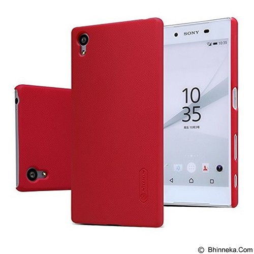 NILLKIN Super Frosted Shield Sony Xperia Z5 - Red (Merchant) - Casing Handphone / Case