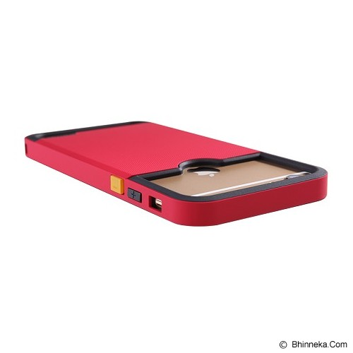 NILLKIN Super Shield Show for iPhone 6 - Red - Casing Handphone / Case