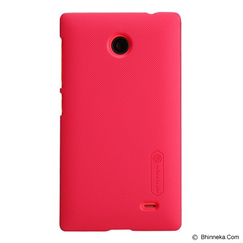 NILLKIN Super Shield for Nokia X - Red - Casing Handphone / Case