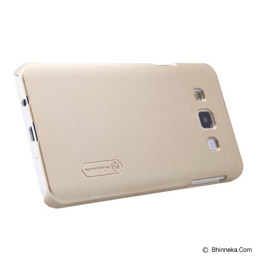 NILLKIN Super Shield for Samsung Galaxy A3 - Gold - Casing Handphone / Case