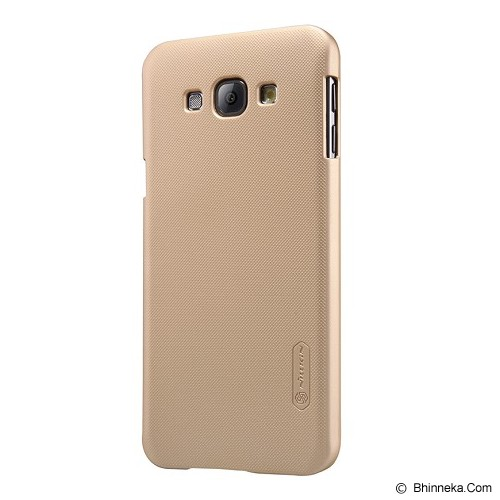 NILLKIN Super Shield for Samsung Galaxy A8 - Gold - Casing Handphone / Case