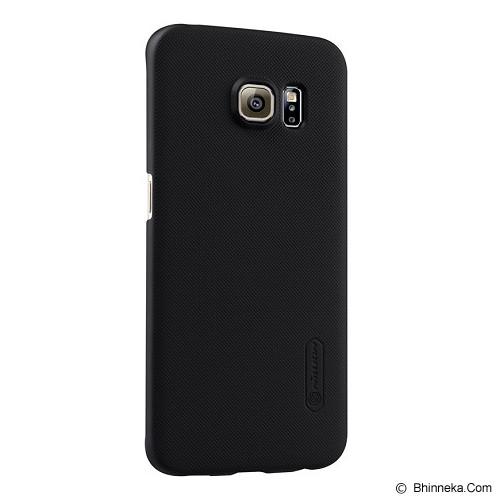 NILLKIN Super Shield for Samsung Galaxy S6 Edge - Black - Casing Handphone / Case