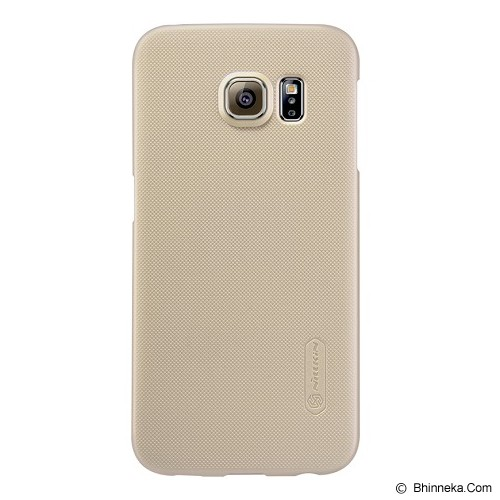 NILLKIN Super Shield for Samsung Galaxy S6 Edge - Gold - Casing Handphone / Case