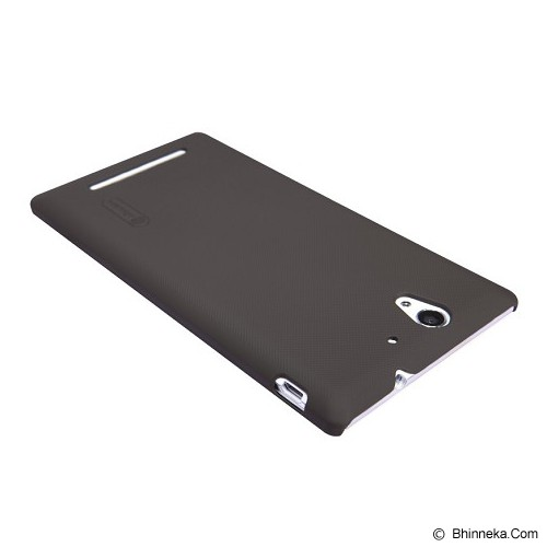 NILLKIN Super Shield for Sony Xperia C - Brown - Casing Handphone / Case