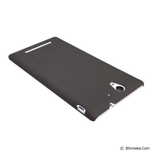 NILLKIN Super Shield for Sony Xperia C - Brown - Casing Handphone / Case