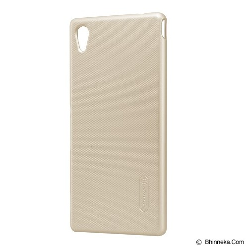 NILLKIN Super Shield for Sony Xperia M4 Aqua - Gold - Casing Handphone / Case