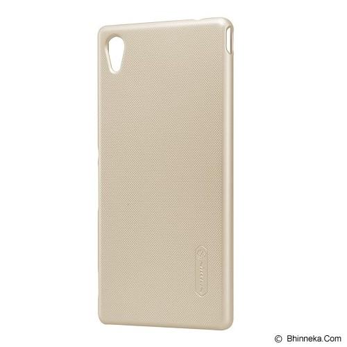 NILLKIN Super Shield for Sony Xperia M4 Aqua - Gold - Casing Handphone / Case