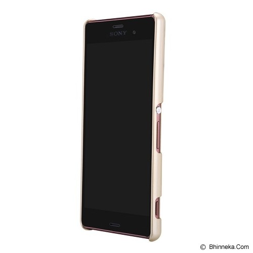 NILLKIN Super Shield for Sony Xperia Z3 - Gold - Casing Handphone / Case