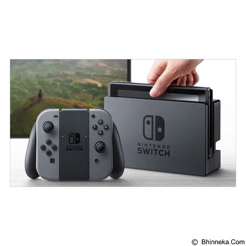 harga NINTENDO Switch with Gray Joy‑Con Bhinneka.Com