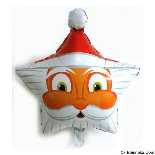 NNPARTYDREAMS Balon Santa Claus Bintang (Merchant) - Balon