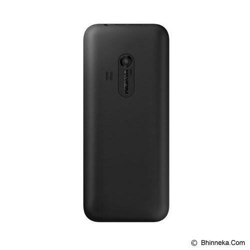 NOKIA Asha 220 - Black - Handphone Gsm