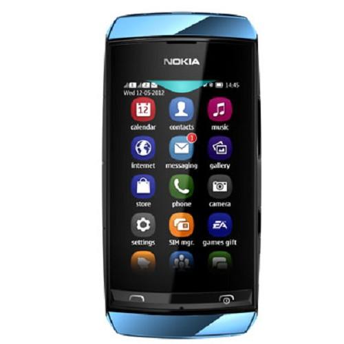 NOKIA Asha 305 - Blue - Handphone Gsm