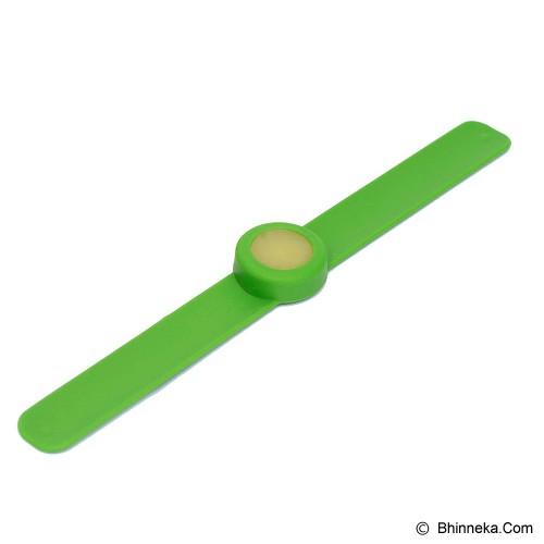 NOKITO Mosquito Repellent Bracelet - Green - Sticker / Spray / Gelang Anti Nyamuk