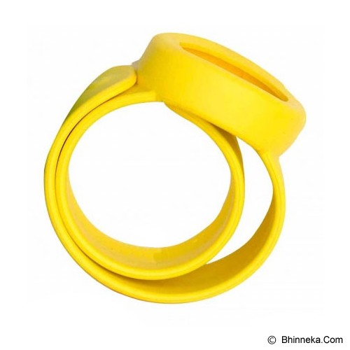 NOKITO Mosquito Repellent Bracelet - Yellow - Sticker / Spray / Gelang Anti Nyamuk