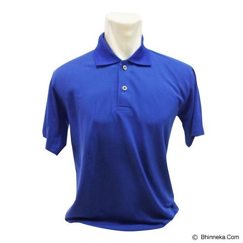 BKP Polo Shirt Kerah Polosan Size L [PSPE-BO] - Biru - Polo Pria
