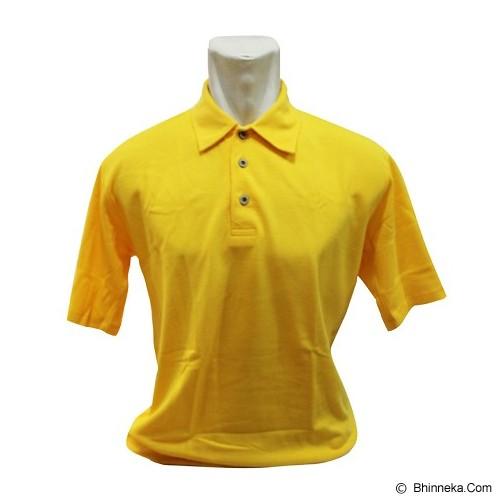 BKP Polo Shirt Kerah Polosan Size L [PSPE-KO] - Kuning
