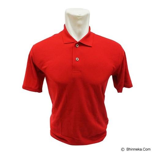 BKP Polo Shirt Kerah Polosan Size XL [PSPE-MO] - Merah