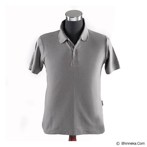NULAR Unisex Premium CVC Polo Shirt Size S - Grey - Kaos Wanita