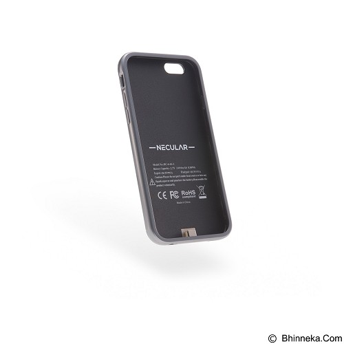 Necular Battery Case iPhone 6/6s - Black (Merchant) - Casing Handphone / Case