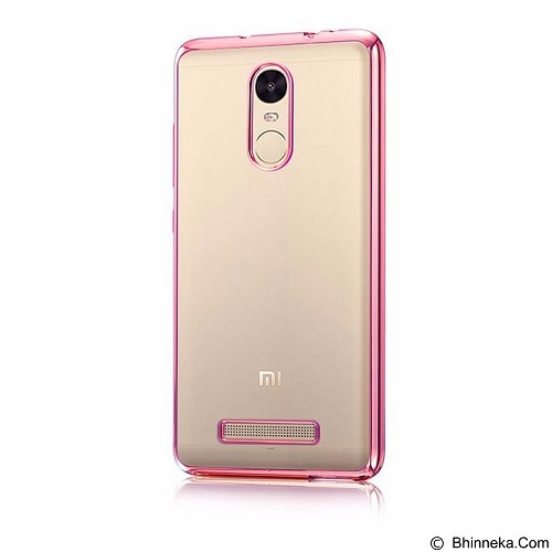 NuC Redmi Note 3 Pro TPU Shinning Chrome Case - Rose Gold (Merchant) - Casing Handphone / Case
