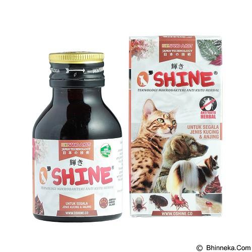 O'SHINE Anti Kutu Herbal 65 ml [KCN65MMLBJ] - Suplemen, Vitamin & Obat Anjing
