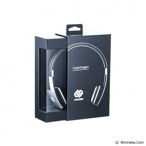 OBLANC Urbanista Copenhagen SF1 On-Ear Headphones - Gun Metal/Silver - Headphone Portable