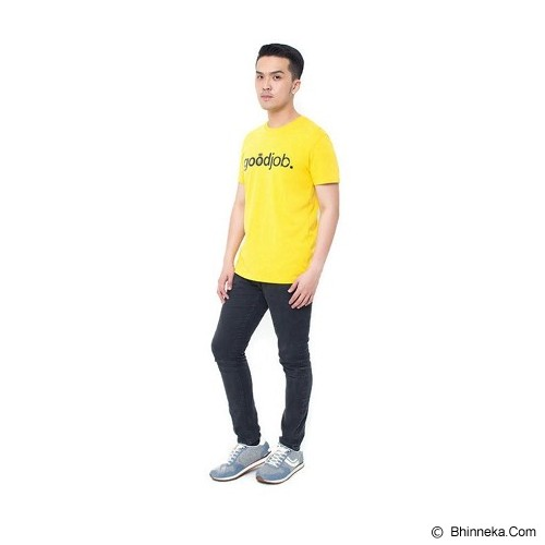 OBLONGKU T Shirt Goodjob Size M [008-TS.001] - Yellow - Kaos Pria
