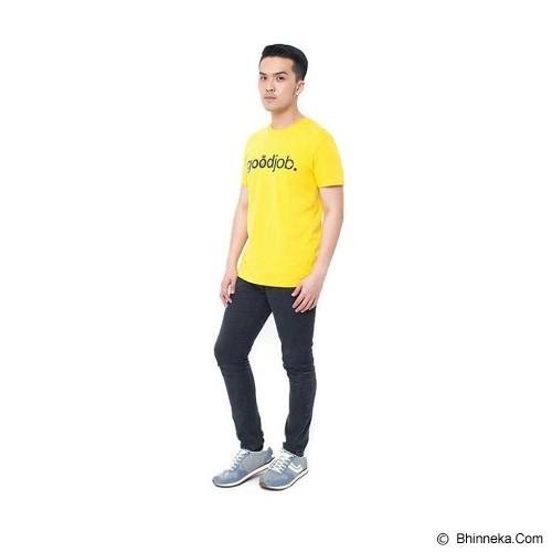 OBLONGKU T Shirt Goodjob Size XL [008-TS.001] - Yellow - Kaos Pria