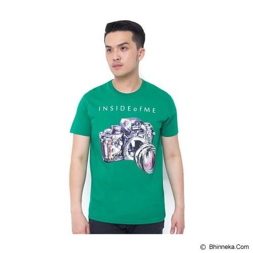 OBLONGKU T Shirt Inside of Me Size XL [008-TS.002] - Green - Kaos Pria