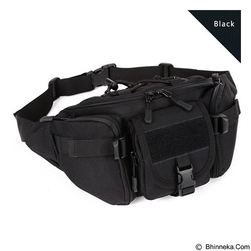 OGAH REPOT Travel Adventure Waist Bag (Merchant) - Tas Pinggang/Travel Waist Bag