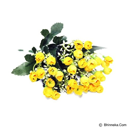 OHOME Bunga Artificial Rose Kuncup Per Set [B000335] - Yellow (Merchant) - Tanaman Buatan/Artificial