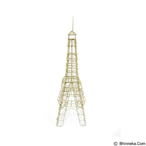 OHOME Decor Pajangan Vintage Menara Eiffel [VB0149] - White (Merchant) - Pajangan Meja