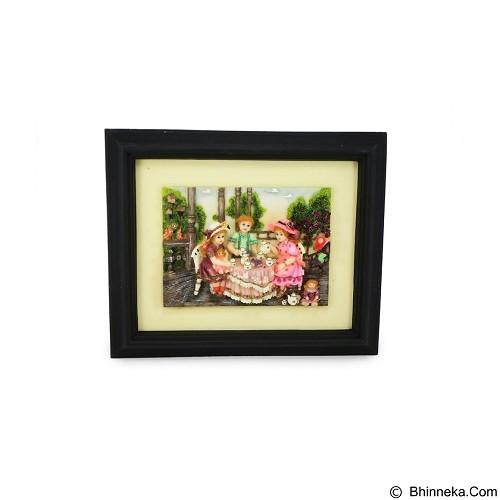 OHOME Decor Tea Time Children 3D Picture Frame [SP3938] (Merchant) - Wall Art / Hiasan Dinding