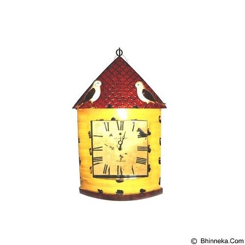 OHOME Jam Dinding Vintage Rumah Burung [T058] (Merchant) - Jam Dinding