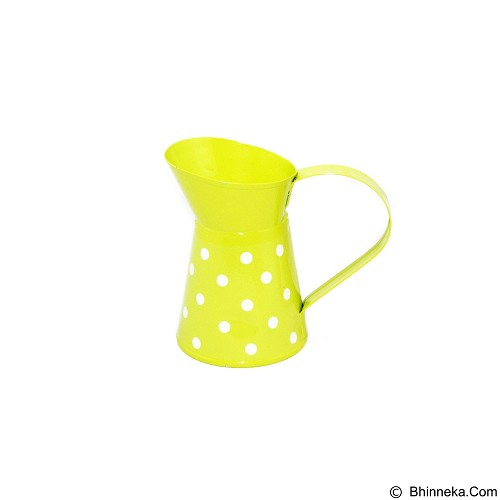 OHOME Mini Jar Dekorasi Interior Exterior Ruangan [AN-VB0050] - Yellow (Merchant) - Kendi / Pitcher / Jug