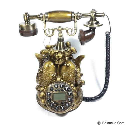 OHOME Ohome Telephone Antik Patung Vintage Classic [AN-T106] (Merchant) - Corded Phone