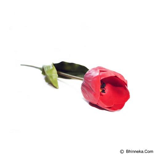 OHOME Tulip Besar Bunga Artificial Dekorasi Interior Eksterior Ruangan [AN-B000132] - Red (Merchant) - Tanaman Buatan/Artificial