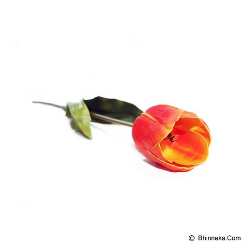 OHOME Tulip Besar Bunga Artificial Dekorasi Interior Eksterior Ruangan [An-B000168] - Orange (Merchant) - Tanaman Buatan/Artificial