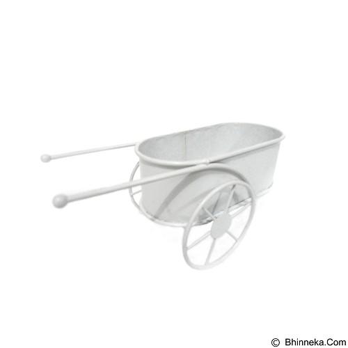 OHOME Vas Bunga Gerobak Mini Multifungsi [VB0162] (Merchant) - Pot Tanaman