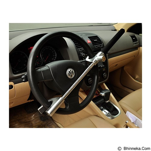 OKLOCK X3 Steering Wheel Lock Lever and Glass Brake - Kunci Stir Mobil