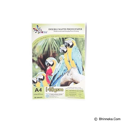 OKTO Digital Photo Paper Double Matte Inkjet 140gsm [CWMM-D 140] - Kertas Foto / Photo Paper